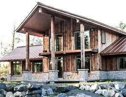 Recycled Wood Residence
